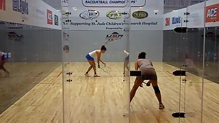 Paola Longoria vs Samantha Salas Solis 2011 US OPEN Racquetball