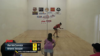 McCormick vs. Jacquet USAR Nationals Girls Singles 14 and Under