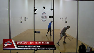 Poucher vs. Smith USA Racquetball Nationals Men's Singles 60+