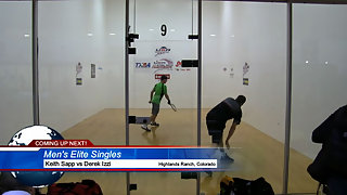 Sapp vs. Izzi USA Racquetball Nationals Mens Elite Singles