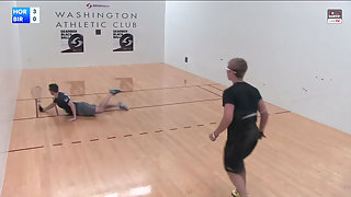 Horn vs. Birnel WRT Mt. Rainier Open Quarterfinals 2015