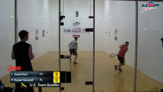 Horn vs. Hemphill USA Racquetball Men's Singles Top 16
