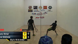 Birnel vs. McEnnis USAR Nationals Boys Singles 18 and Under