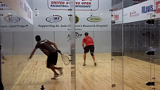 Racquetball US OPEN Ben Croft vs Mitch Williams