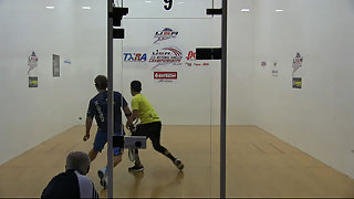 Bredenbeck vs. Rojas USA Racquetball Nationals Men's US Team Finals