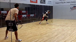 2011 US Open Racquetball Ben Croft vs. Ruben Gonzalez