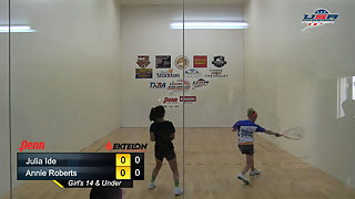 Ide vs. Roberts USAR Nationals Girls Singles 14 and Under Gold