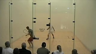 John Goth vs Rocky Carson Racquetball Game 2 Part 1
