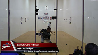 Lowe vs. Stark USA Racquetball Nationals Men's 45+ Finals