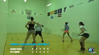 Rajsich/Vargas vs. Key/Lambert LPRT Battle at the Alamo Doubles Semis 2015