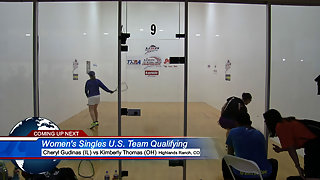 Gudinas vs. Thomas USA Racquetball Nationals Women's US Team Qualifying