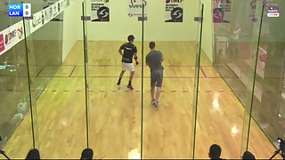 Horn vs. Landa WRT Juarez Open Quarters