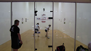 Thomas vs. Baumbaugh USA Racquetball Nationals 3rd Place