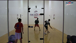 Allen vs. Manilla USA Racquetball Nationals Men's US Team Quarters