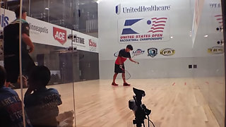 Kane Waselenchuk vs Daniel DeLaRosa at the 2013 US OPEN