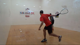 Sapp vs. Wallace USA Racquetball Nationals Men's 25-30+ Elite Singles