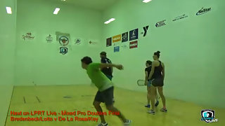 Bredenbeck/Lotts vs. De La Rosa/Key LPRT Battle at the Alamo Mixed Doubles Finals 2015
