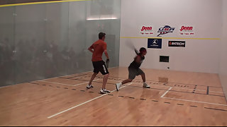 2011 Racquetball Nationals Juniors Boy 18 Final Match Singles Part 1