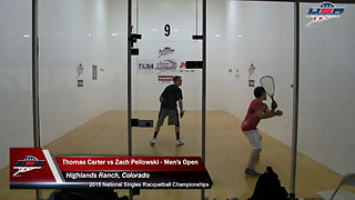 Carter vs. Pellowski USA Racquetball Singles Men's Open