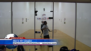Stark vs. Eiseman USA Racquetball Nationals Men's 45+