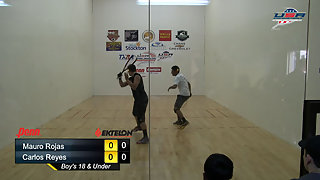 Rojas vs. Reyes USAR Nationals Boys 18 and Under Singles