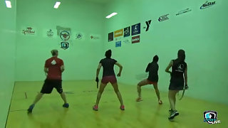 Rajisch/Vargas vs. Gonzalez/Herrera LPRT Battle at the Alamo Doubles Quarters 2015