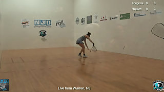 Longoria vs. Rajsich LPRT New Jersey Open Finals