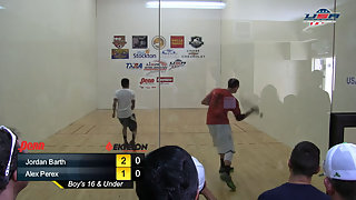 Barth vs. Perez USAR Nationals Boys 16 and Under Singles