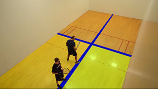 Use the Quadrant System to improve your Racquetball game.