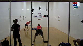Rajsich vs. Gudinas USA Racquetball Nationals Women's Finals