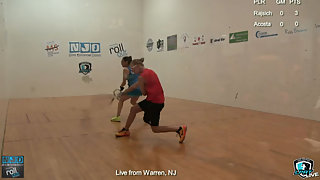 Rajsich vs. Acosta LPRT New Jersey Open Quarters