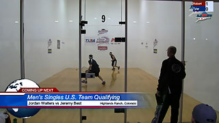 Walters vs. Best USA Racquetball Nationals Men's Singles