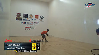 Thakur vs. Chauhan USAR Nationals Boys Singles 12 and Under