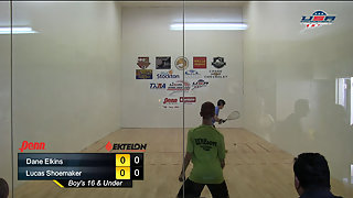 Elkins vs. Shoemaker USAR Nationals Boys Singles 16 and Under Gold