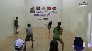 Santana Jr./Robeldo vs. Le/Quintanilla USAR Nationals Mixed Doubles 16 and Under