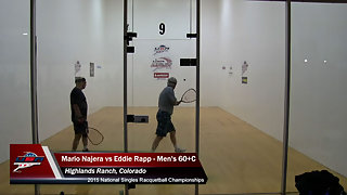 Najera vs. Rapp USA Racquetball Nationals Singles Men's 60+C