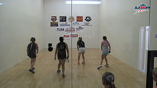 Jacquet/Boyle vs. Wargo/Dent USAR Nationals Girls 14 and Under Doubles