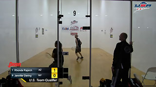 Rajsich vs. Dering USA Racquetball Nationals Singles Women