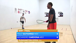 Gutierrez vs. Cardona WRT Pleasanton Open Finals 2015