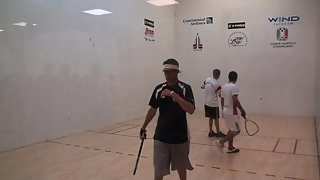 Jr Worlds Racquetball 2011 Boys 18 Doubles USA vs Bolivia game 1