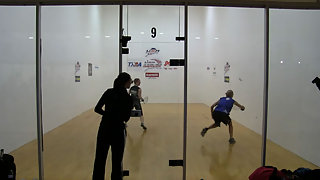 Rajsich vs. Baumbaugh USA Racquetball Nationals US Team Semis