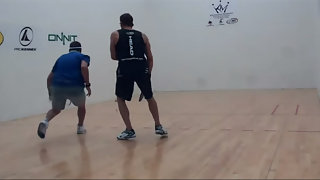 The Shot of Racquetball! by Kane Waselenchuk
