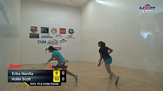 Manilla vs. Scott - USAR Nationals Girls Singles 16 and Under