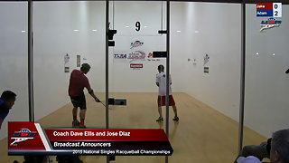Bredenbeck vs. Manilla USA Racquetball Nationals Mens US Team Semis
