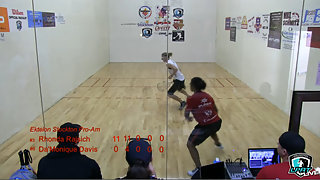 Rhonda Rajsich vs Da'Monique Davis Ektelon Pro-am 2014