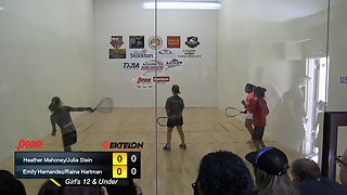 Mahoney/Stein vs. Hernandez/Hartman USAR Nationals Girls 12 and Under Doubles