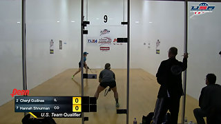 Gudinas vs. Shnurman USA Racquetball Nationals Singles Women