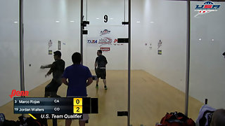 Rojas vs. Walters USA Racquetball Nationals Men's Singles Top 16