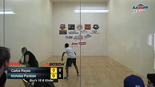 Reyes vs. Pavloski USAR Nationals Boys Singles 18 and Under Gold