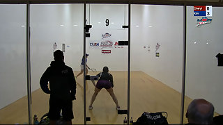 Gudinas vs. Thomas USA Racquetball Nationals Women's US Team Semis